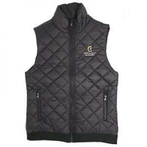 diamond lightweight puffer vest